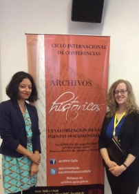 Conference presentation in Quito, Ecuador 2016